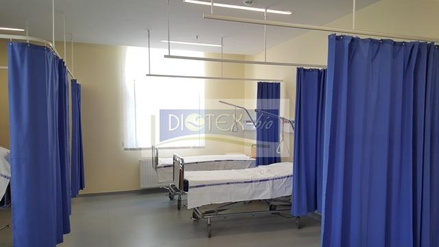 antibakteriális függöny