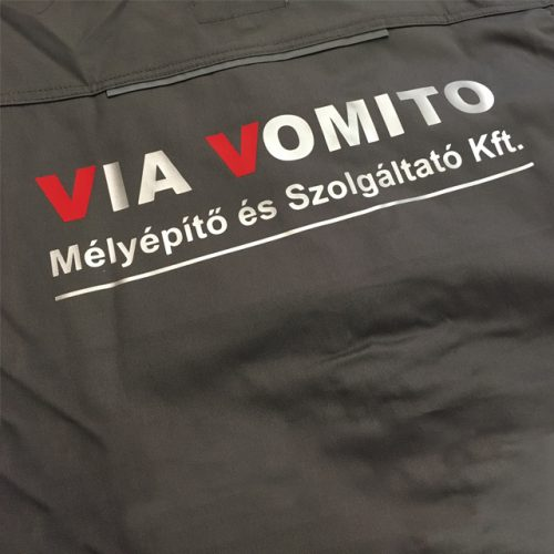 céges póló készítés